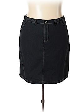 Be-Girl Jeans Denim Skirt Size 3X (Plus)