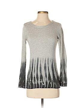 Blue Saks Fifth Avenue Long Sleeve T-Shirt Size XS