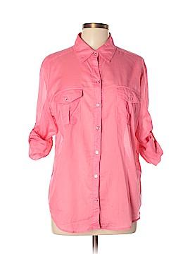 New York & Company Long Sleeve Button-Down Shirt Size XL