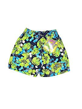 Plaid Fish Board Shorts Size 18 mo