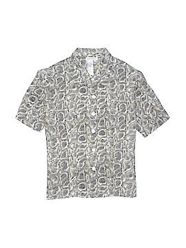 Rene Margo Short Sleeve Blouse Size L