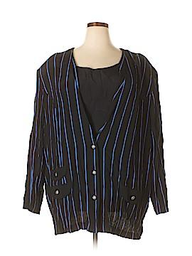 Cheryl T. 3/4 Sleeve Blouse Size 34WP (Plus)