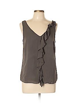 Graham & Spencer Sleeveless Silk Top Size L