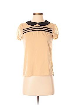 Princess Vera Wang Short Sleeve Blouse Size XS