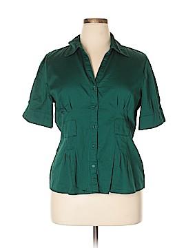 Apt. 9 Short Sleeve Button-Down Shirt Size XL