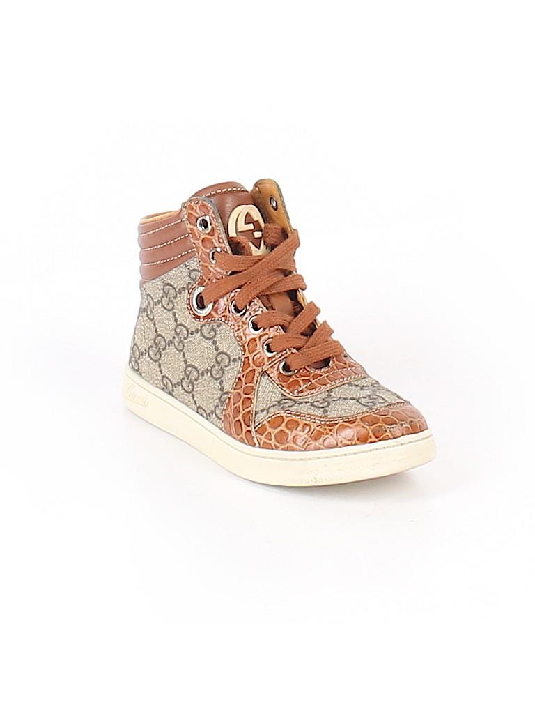 98076b580d3 Gucci Animal Print Color Block Brown Sneakers Size 30 (EU) - 53% off ...