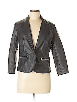 Last Kiss Faux Leather Jacket Size M