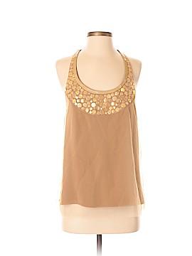 Rachel Roy Short Sleeve Silk Top Size 4