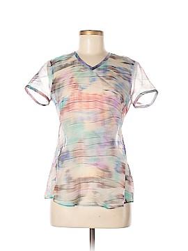 Giorgio Armani Short Sleeve Silk Top Size 42 (IT)