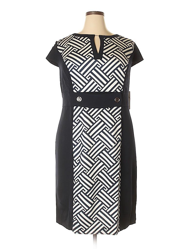 Sandra Darren Women Casual Dress Size 22 (Plus)