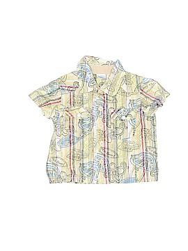Cherokee Short Sleeve Button-Down Shirt Size 3 mo