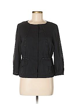 DKNY Long Sleeve Silk Top Size 2