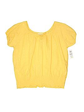 Bobbie Brooks Short Sleeve Blouse Size 1X (Plus)