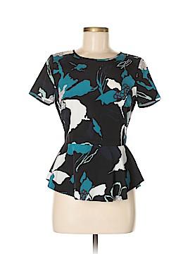 DKNY Short Sleeve Silk Top Size S