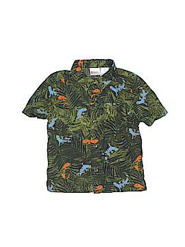 Kidgets Short Sleeve Button-Down Shirt Size 24 mo