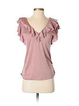 Ralph Lauren Short Sleeve Silk Top Size S