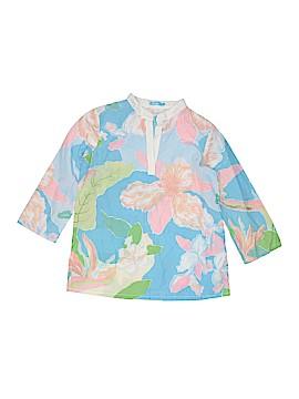 J. McLaughlin 3/4 Sleeve Blouse Size 11 - 12