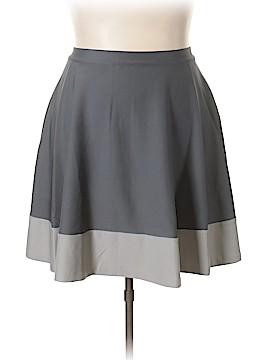 Jete Denim Skirt Size 3X (Plus)