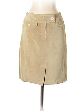 Ann Taylor LOFT Leather Skirt Size 4