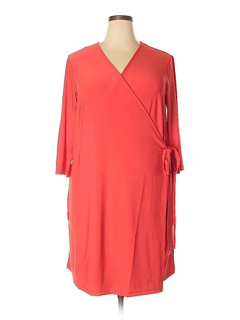 X-Two Women Casual Dress Size 18 (Plus)