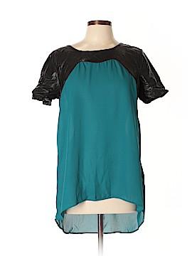 Very J Short Sleeve Blouse Size L