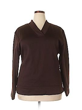 Bobbie Brooks Sweatshirt Size 2X (Plus)
