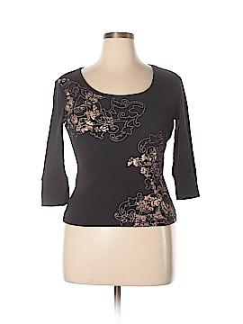 Gloria Vanderbilt 3/4 Sleeve T-Shirt Size XL