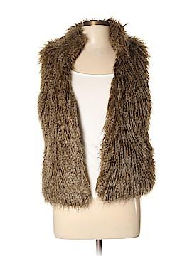 MICHAEL Michael Kors Faux Fur Vest Size S