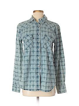 Cruel Girl Long Sleeve Button-Down Shirt Size S