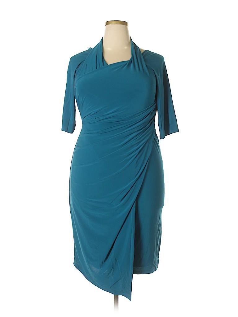 Kiyonna Women Casual Dress Size 1