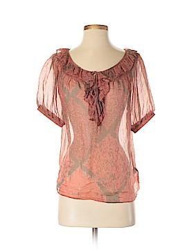 Love 21 Short Sleeve Silk Top Size XS