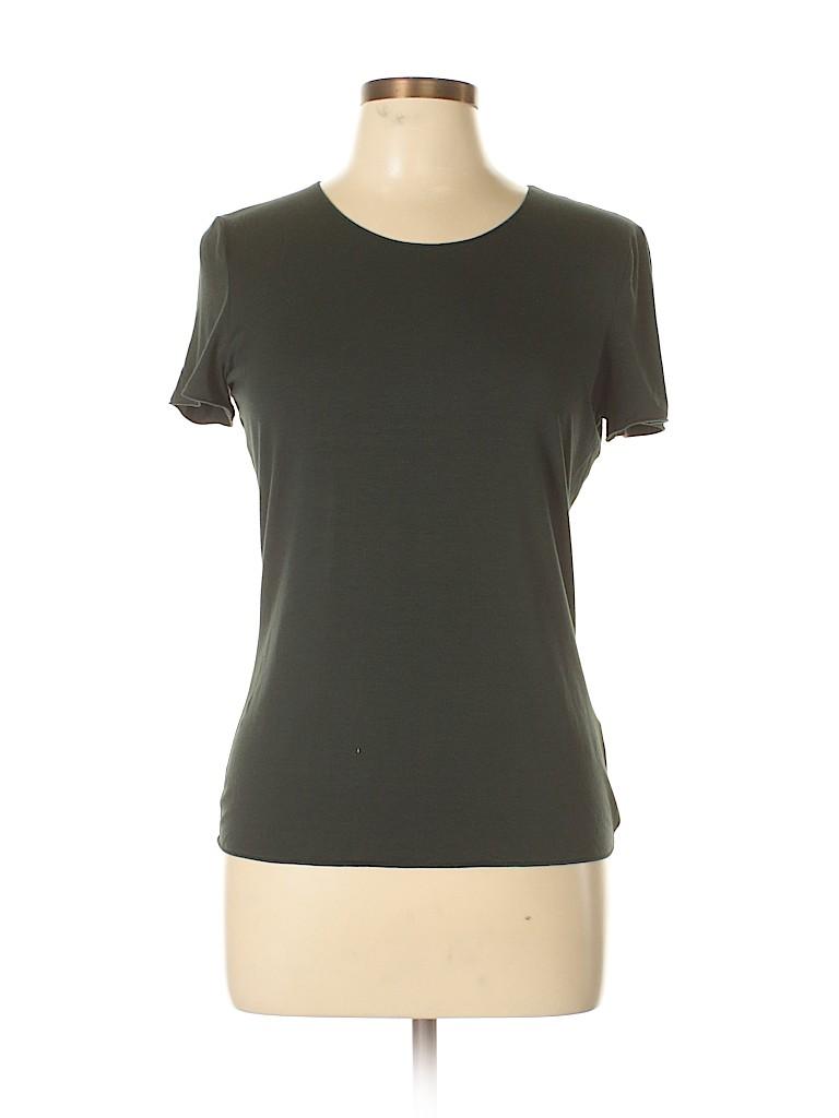 Armani Collezioni Women Short Sleeve Blouse Size 12
