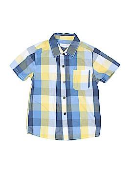 Pumpkin Patch Short Sleeve Button-Down Shirt Size 3