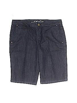 INC International Concepts Denim Shorts Size 10