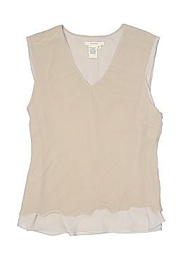 Merona Sleeveless Silk Top Size XL