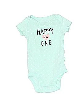 Just One Year by Carter's Short Sleeve Onesie Newborn