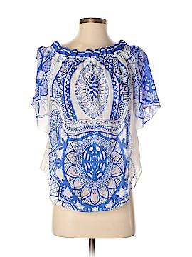 Analili Short Sleeve Silk Top Size XS - Sm