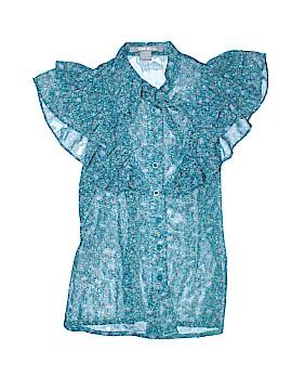 Sans Souci Short Sleeve Blouse Size M