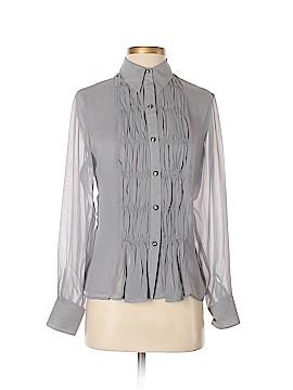 Richard Malcom Long Sleeve Silk Top Size S