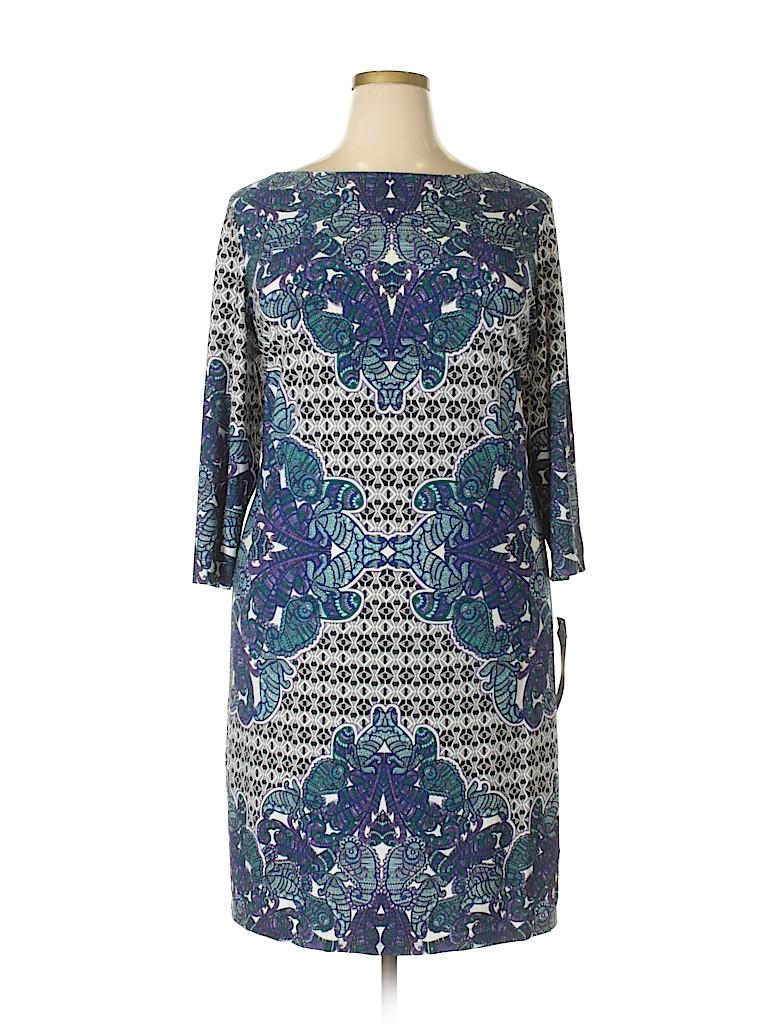 London Times Women Casual Dress Size 22 (Plus)
