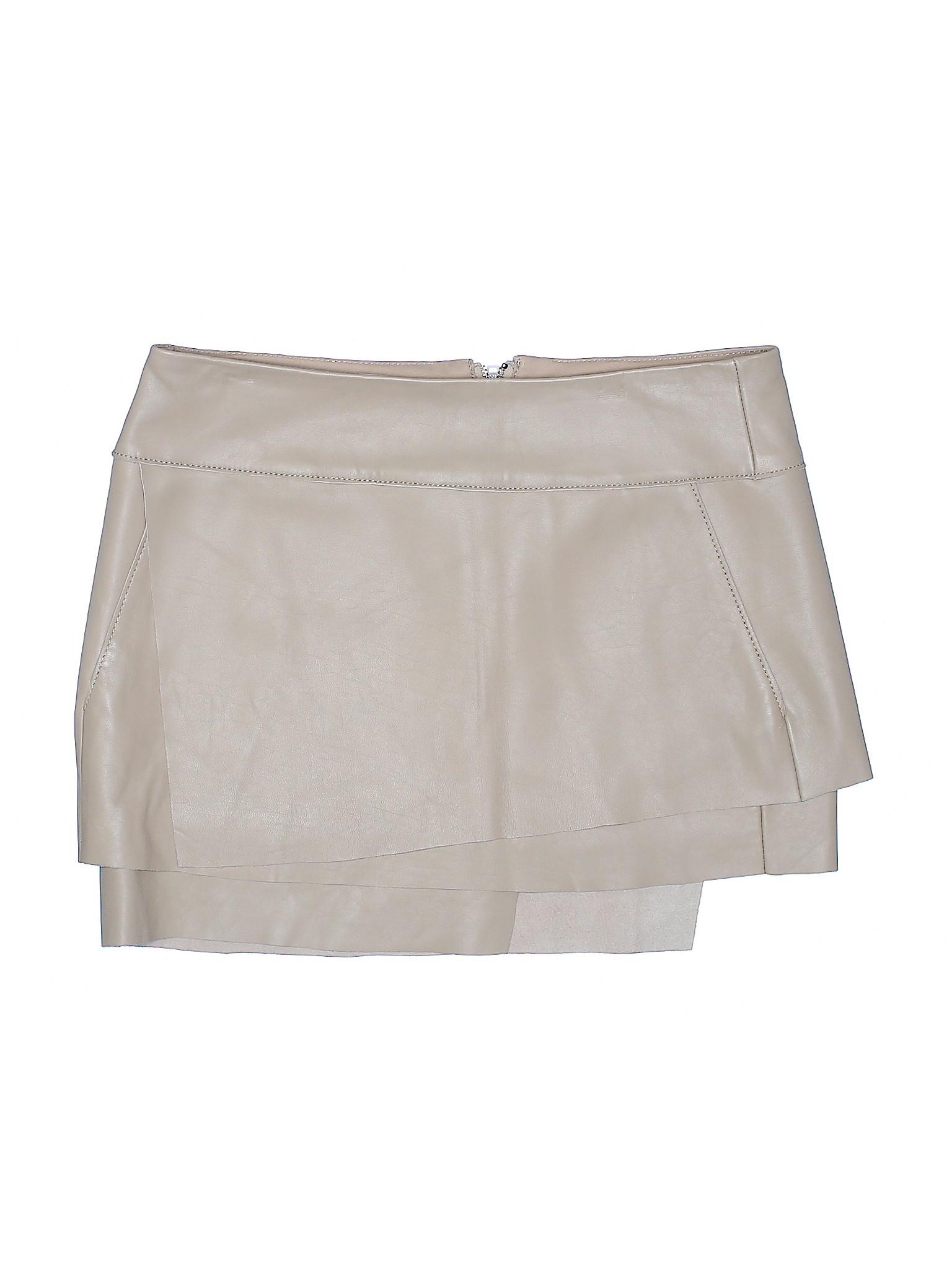 Skirt Leather Boutique leisure Helmut Lang ItUpqrUw7