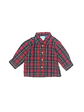 Goodlad Long Sleeve Button-Down Shirt Size 3-6 mo