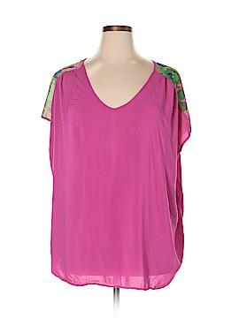 LYS Short Sleeve Blouse Size 3X (Plus)