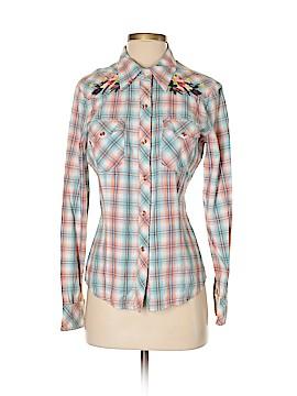 Vigoss Long Sleeve Button-Down Shirt Size XL