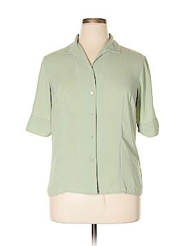 Laura Scott Short Sleeve Blouse Size 16