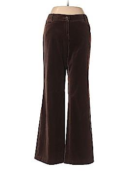 Ann Taylor LOFT Velour Pants Size 8