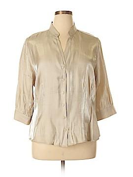 Joanna Short Sleeve Blouse Size XL (Petite)