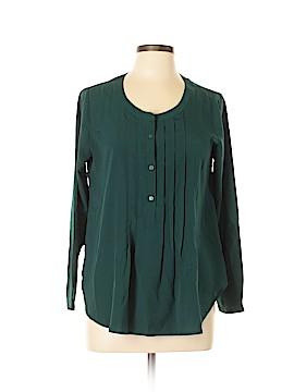 Ann Taylor LOFT Outlet Long Sleeve Blouse Size M (Petite)