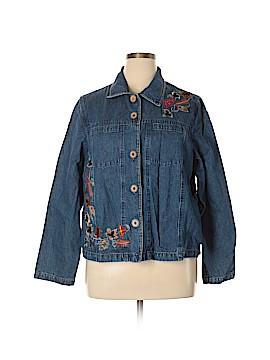 Tantrums Denim Jacket Size XL