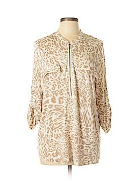 Calvin Klein 3/4 Sleeve Top Size XL